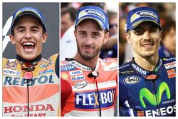 Les prétendants au titre MotoGP