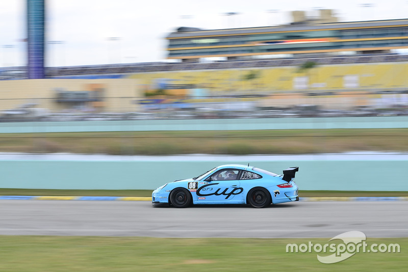 #08 MP2A Porsche GT3 Cup driven by Guillermo Fernandez and Frank Silah of MGM Motorsports