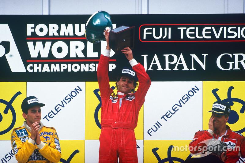 Gerhard Berger* (5 victorias)