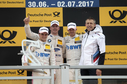 Podium: 1. Maxime Martin, BMW Team RBM, BMW M4 DTM, 2. Lucas Auer, Mercedes-AMG Team HWA, Mercedes-AMG C63 DTM, 3. Edoardo Mortara, Mercedes-AMG Team HWA, Mercedes-AMG C63 DTM, Bart Mampaey, BMW Team RBM