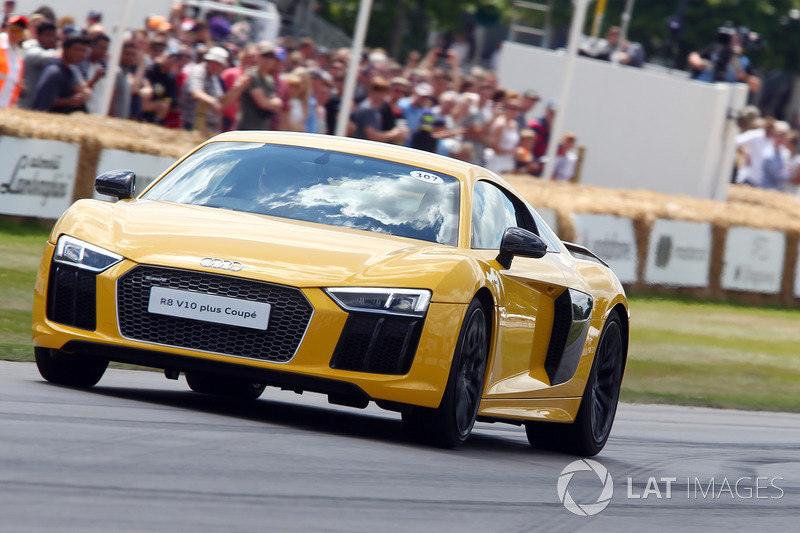 Chris Ward, Audi R8 V10