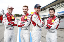 Jamie Green, Audi Sport Team Rosberg, René Rast, Audi Sport Team Rosberg, Mattias Ekström, Audi Sport Team Abt Sportsline, Mike Rockenfeller, Audi Sport Team Phoenix