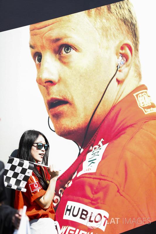 Fan de Kimi Raikkonen, Ferrari