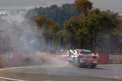 Tim Slade, Brad Jones Racing Holden crash