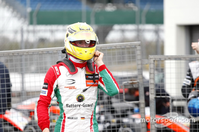 Maximilian Günther, Prema Powerteam, Dallara F317 - Mercedes-Benz