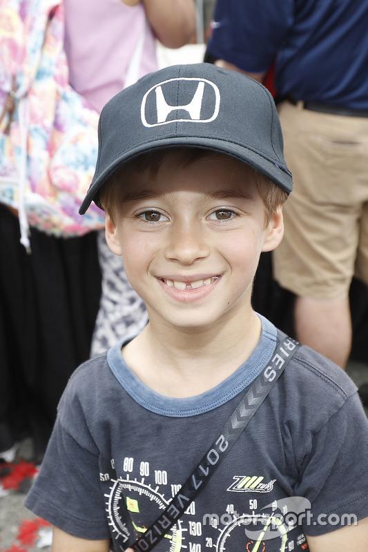 Alex Bourdais, Sohn von Sébastien Bourdais