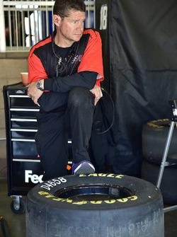 Joe Gibbs Racing crew member