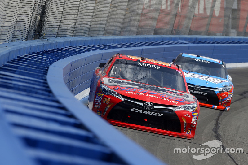 Erik Jones, Joe Gibbs Racing Toyota, Kyle Busch, Joe Gibbs Racing Toyota