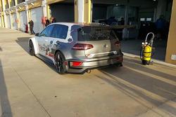 Volkswagen Golf GTI TCR, test Monteblanco