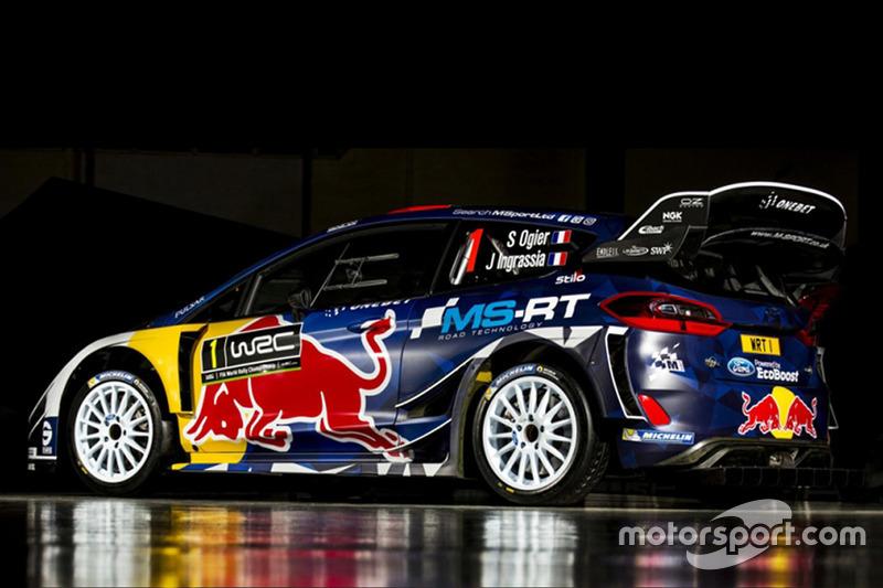Design Ford Fiesta WRC 2017