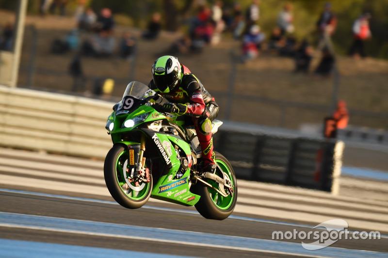 DNF - #99 WSB Endurance, Kawasaki: Danny Maertz, Thomas Hainthaler, Sascha Müller