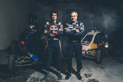 Carlos Sainz and Carlos Sainz Jr.