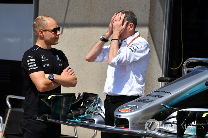 Валттері Боттас, Mercedes AMG F1, гоночний інженер Mercedes AMG F1 Тоні Росс