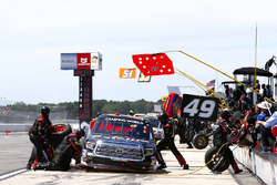 Ben Rhodes, ThorSport Racing Toyota pit stop