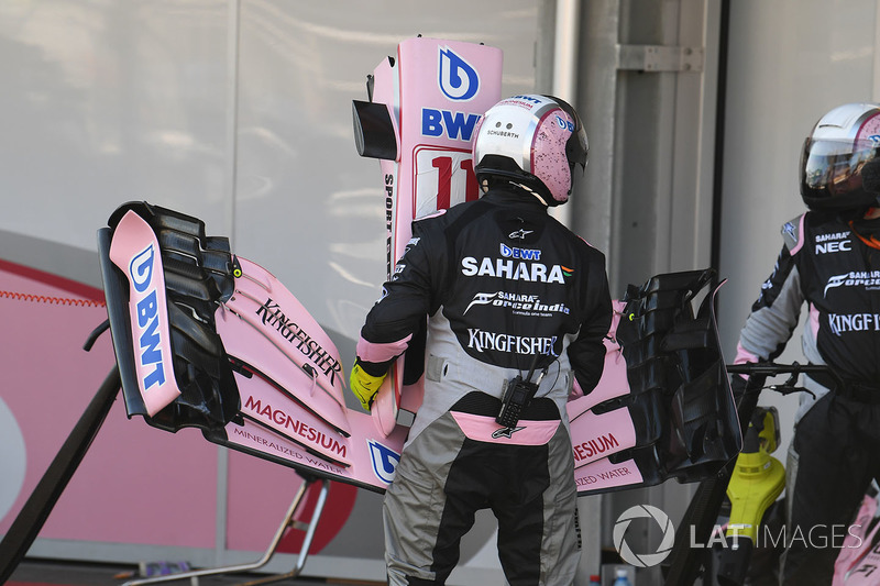 Sergio Pérez, Sahara Force India VJM10