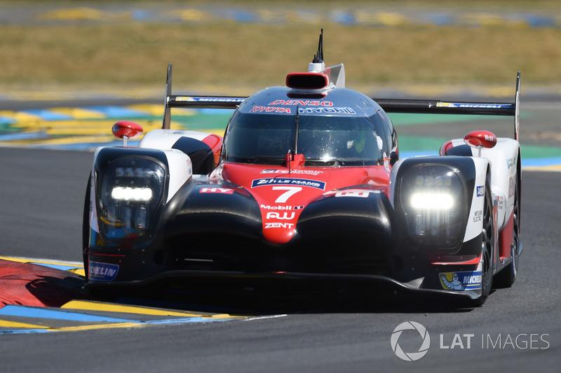 1. LMP1: #7 Toyota Gazoo Racing, Toyota TS050 Hybrid