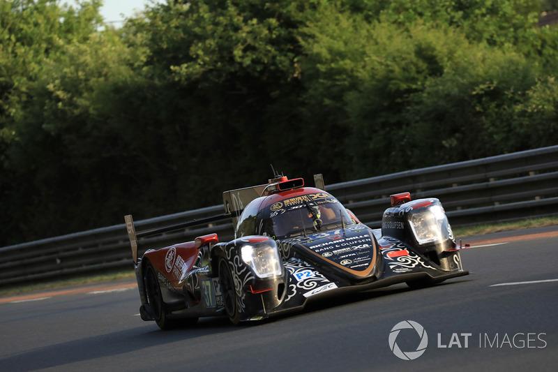 Второе место LMP2: DC Racing №37