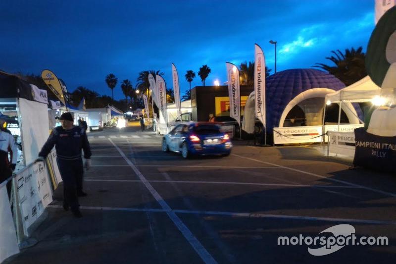 Rallye Sanremo - partenza seconda gara