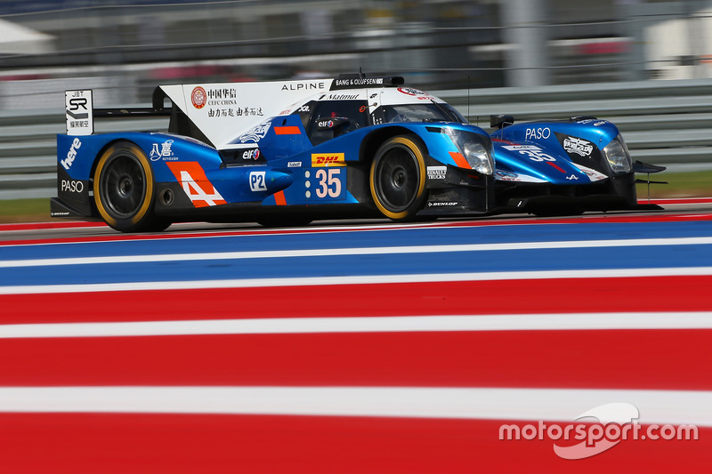 5. LMP2: #35 Baxi DC Racing, Alpine A460 - Nissan: David Cheng, Ho-Pin Tung, Nelson Panciatici