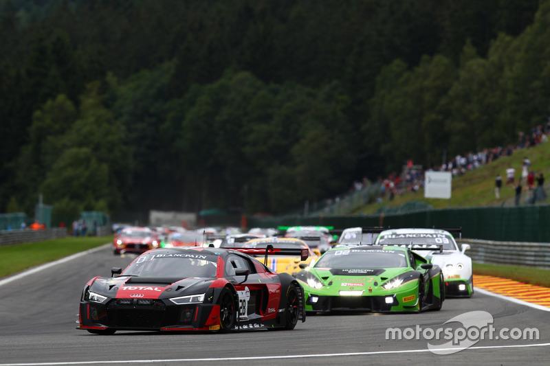 #28 Belgian Audi Club Team WRT, Audi R8 LMS: Nico Müller, René Rast, Laurens Vanthoor