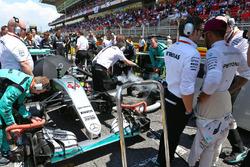 Peter Bonnington, Mercedes AMG F1 con Lewis Hamilton, Mercedes AMG F1