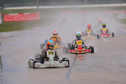 Kyle Kirkwood has a significant lead in the Rotax Senior Championship