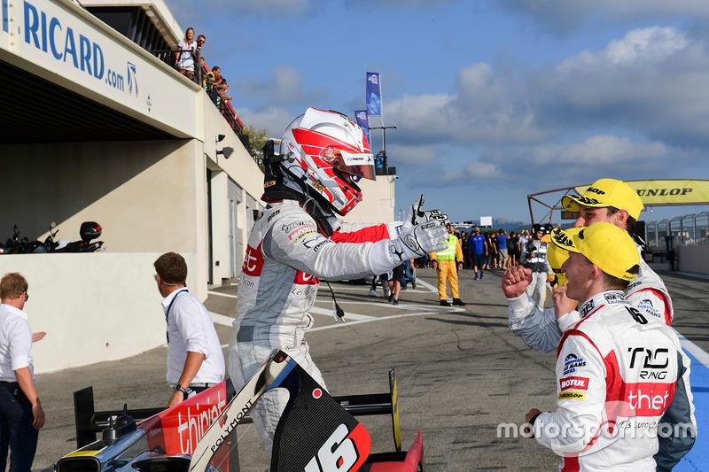 I vincitori della gara #46 Thiriet by TDS Racing Oreca 05 - Nissan: Pierre Thiriet, Mathias Beche, M