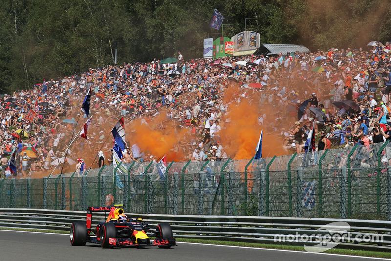 38: Гран Прі Бельгії, Спа. Макс Ферстаппен, Red Bull Racing RB12
