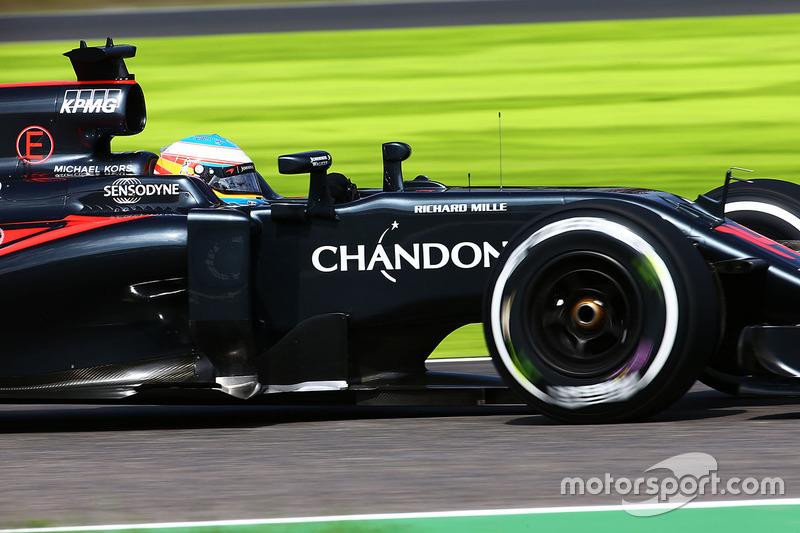 15: Fernando Alonso, McLaren MP4-31
