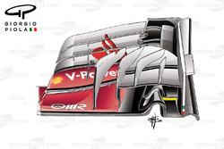 Ancien aileron avant, Ferrari SF16-H, GP de Malaisie
