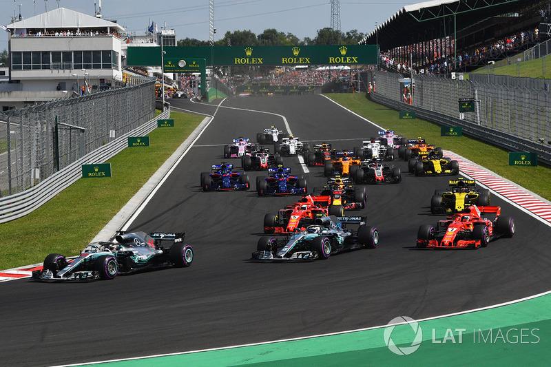 Aksi start GP Hongaria