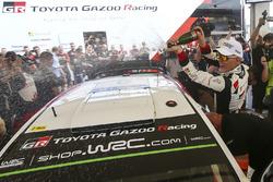 Winner Ott Tanak, Toyota Gazoo Racing