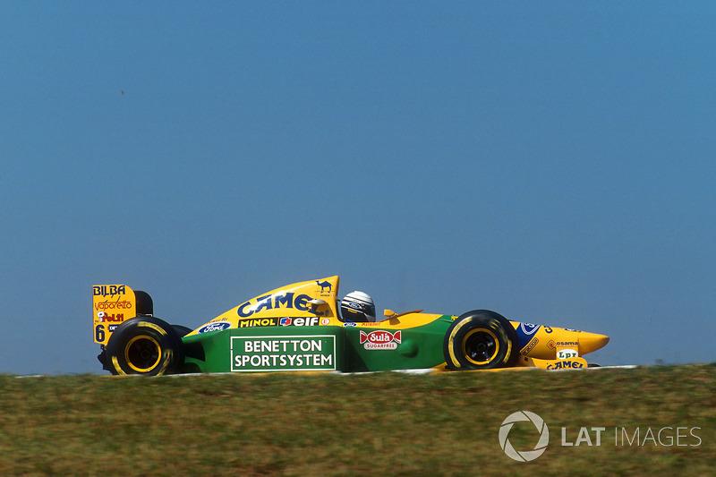 1993 – Ріккардо Патрезе, Benetton