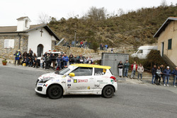 Simone Rivia, Niccolo Faettini, Suzuki Swift, Versilia Rally Team