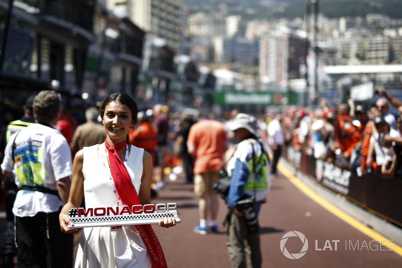 Monaco GP Girl