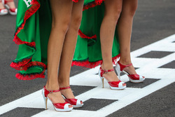 Grid girls and shoes