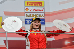 Podium Coppa Shell: #301 Octane 126 Ferrari 488: Fabienne Wohlwend