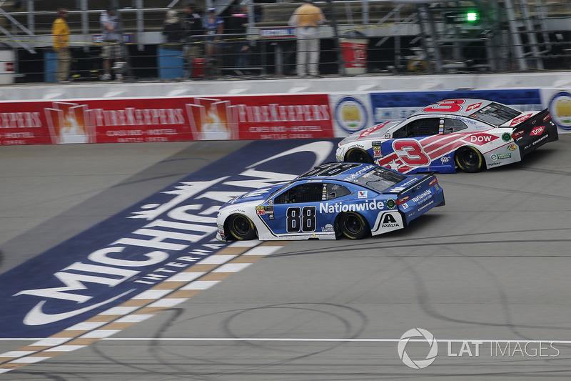 Alex Bowman, Hendrick Motorsports, Chevrolet Camaro Nationwide Austin Dillon, Richard Childress Racing