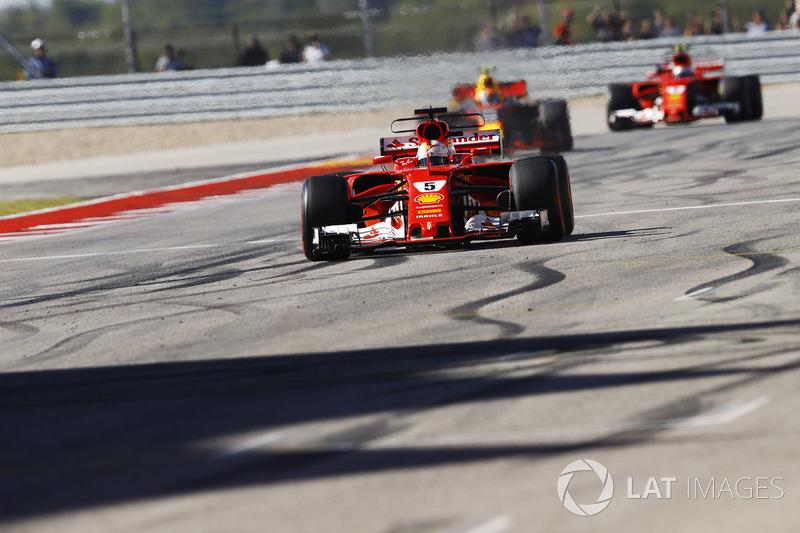 2 місце — Себастьян Феттель, Ferrari. Умовний бал — 48,611