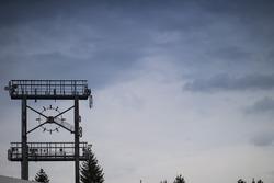 Un reloj en el viejo Hockenheimring