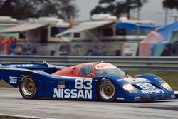 Geoff Brabham, Derek Daly, Gary Brabham, Nissan NPT-90