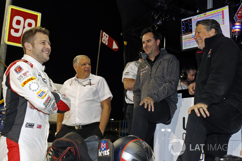 Marco Andretti, Herta - Andretti Autosport Honda, Art St. Cyr, Bryan Herta and Michael Andretti