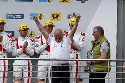Podium: Wolfgang Land, team principal Audi Sport Team Land  Motorsport