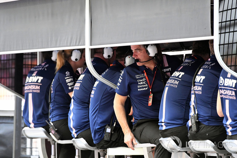 Andy Stevenson, Force-India-Teammanager