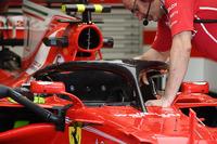 Ferrari SF70H mit Cockpitschutz Halo