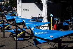 Renault e.Dams garajes