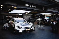 Coche de Paul Di Resta, Mercedes-AMG Team HWA, Mercedes-AMG C63 DTM