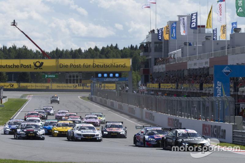 Arrancada Bruno Spengler, BMW Team RBM, BMW M4 DTM líder