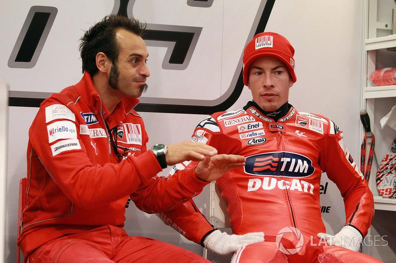 Nicky Hayden, Ducati Team, Vittoriano Guareschi
