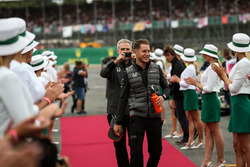 Stoffel Vandoorne, McLaren on the drivers parade